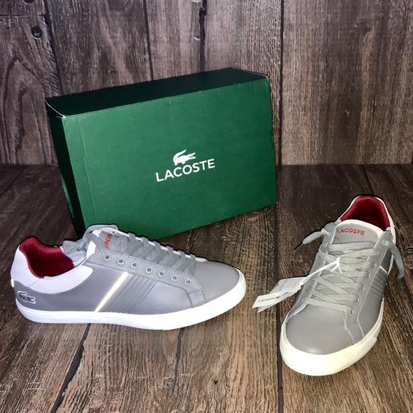 4b688320daeed3 LACOSTE Men s Fairlead 316 Sneakers (Grey)
